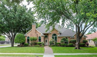 Plano Single Family Home Active Option Contract: 4216 Whistler Drive