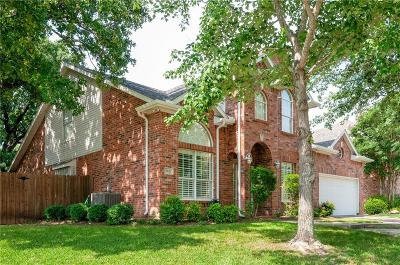 Keller Single Family Home Active Option Contract: 2824 Flint Trail