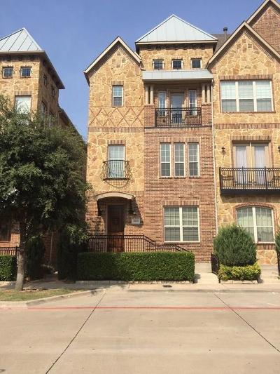 Farmers Branch Townhouse For Sale: 4069 Winsor Drive