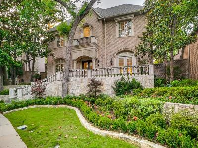 Dallas TX Single Family Home For Sale: $1,479,000