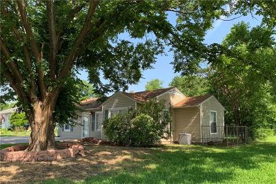 Dallas County, Denton County, Collin County, Cooke County, Grayson County, Jack County, Johnson County, Palo Pinto County, Parker County, Tarrant County, Wise County Single Family Home For Sale: 1709 Bell Avenue