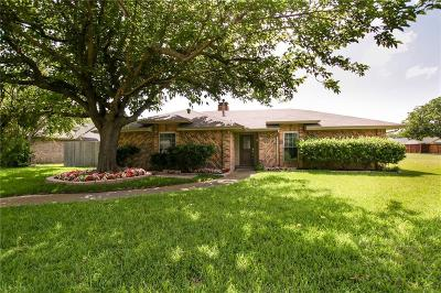 Richardson Single Family Home For Sale: 1102 Meadow Circle