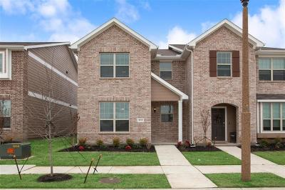 Denton Townhouse For Sale: 3312 Becker Drive