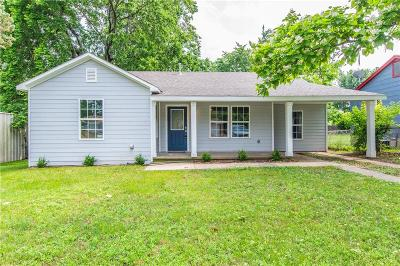 Denison Single Family Home For Sale: 508 W Hanna Street