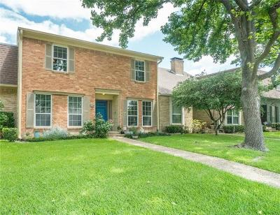 Dallas Townhouse For Sale: 3719 Weeburn Drive