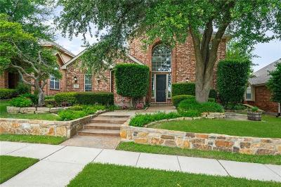 McKinney Single Family Home Active Option Contract: 2812 Palo Duro Canyon Drive