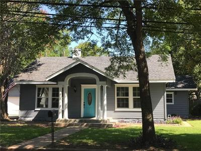 Johnson County Single Family Home For Sale: 706 W Smith Street