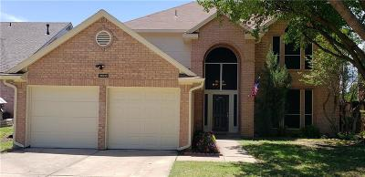 Lewisville Single Family Home Active Option Contract: 2006 Hidden Trail Drive