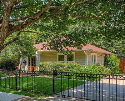 Oak Cliff Annex, Oak Cliff Anx Add, Oak Cliff Estates, Oak Cliff Gardens, Oak Cliff Original, Oak Cliff Original Town Of Single Family Home For Sale: 832 N Winnetka Avenue