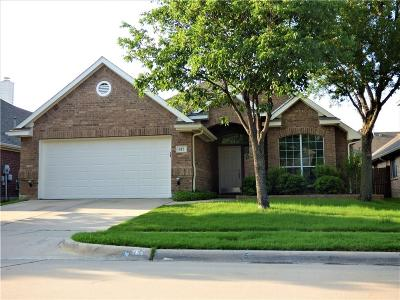 Euless Single Family Home Active Option Contract: 417 Fountain Park Drive