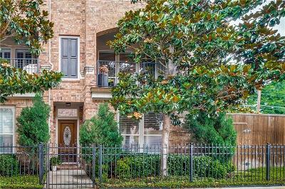 Townhouse Active Contingent: 3704 Wycliff Avenue #1