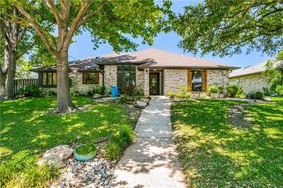 Plano Single Family Home Active Contingent: 3229 Chimneyrock Drive