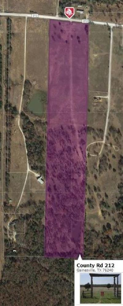 Cooke County Residential Lots & Land For Sale: Tbd County Rd 212 Street