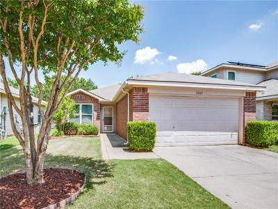 Denton County Single Family Home Active Option Contract: 2224 Southway