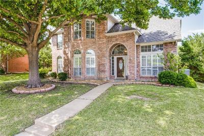 Plano Single Family Home Active Option Contract: 1405 Newbury Lane