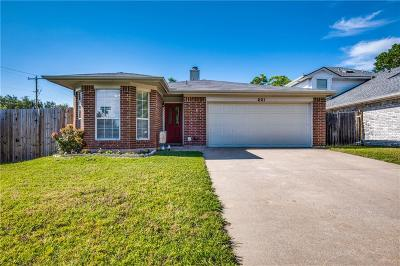 Keller Single Family Home For Sale: 201 Colt Lane