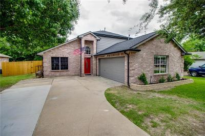 Sachse Single Family Home Active Option Contract: 4704 Lee Hutson Lane