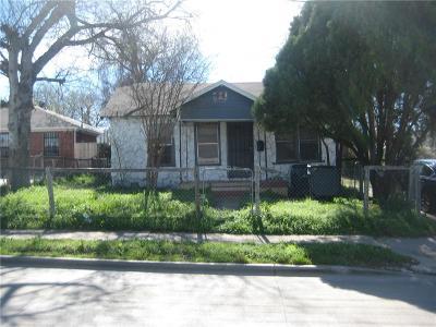 Dallas Single Family Home For Sale: 2414 Wycliff Avenue