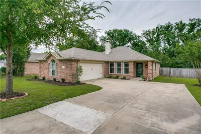 Wylie Single Family Home Active Option Contract: 120 S Bending Oak Lane