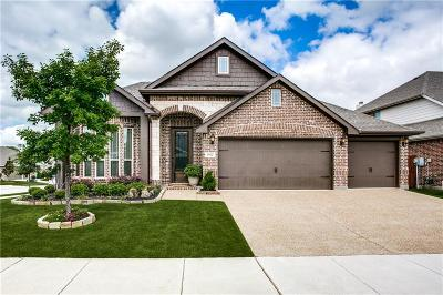 Little Elm Single Family Home Active Option Contract: 1012 Freesia Drive