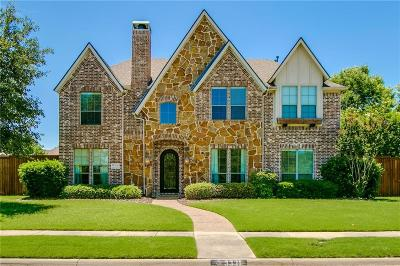 Frisco Single Family Home Active Option Contract: 3331 Leatherwood Drive