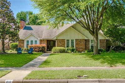 Richardson Single Family Home For Sale: 810 Grinnell Drive