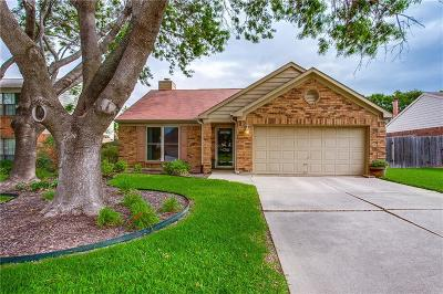Grapevine Single Family Home Active Contingent: 1216 Eaton Lane