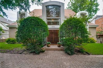 University Park, Highland Park Single Family Home For Sale: 2916 University Boulevard