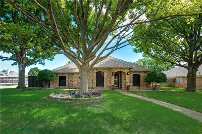 Plano Single Family Home Active Contingent: 1800 Tawakoni Lane