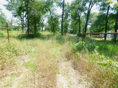 Azle Residential Lots & Land Active Contingent: 0000 Hidden Circle