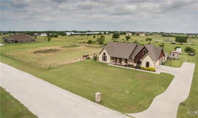 Justin Single Family Home For Sale: 9210 Chisum Road