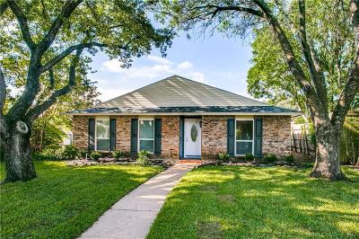 Plano Single Family Home Active Option Contract: 1200 Whitehall Drive