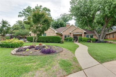 Grapevine Single Family Home Active Option Contract: 1044 Steeplewood Drive