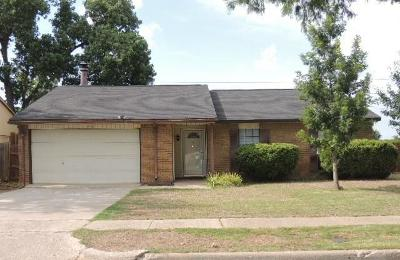 The Colony Single Family Home Active Option Contract: 4960 Woodruff Drive