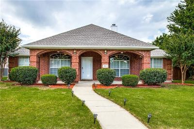 Allen Single Family Home Active Option Contract: 1321 Lochness Drive