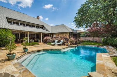 Dallas Single Family Home For Sale: 17008 Club Hill Drive