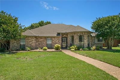 Allen Single Family Home Active Option Contract: 902 Spring Brook Drive