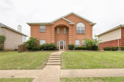 Sachse Single Family Home For Sale: 4907 Waterside Lane