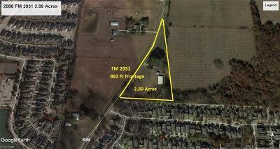 Aubrey Farm & Ranch For Sale: 2086 Fm 2931