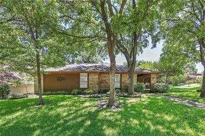 Garland Single Family Home Active Option Contract: 3010 Cross Timbers Lane
