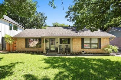 Dallas County Single Family Home For Sale: 7325 Clemson Drive