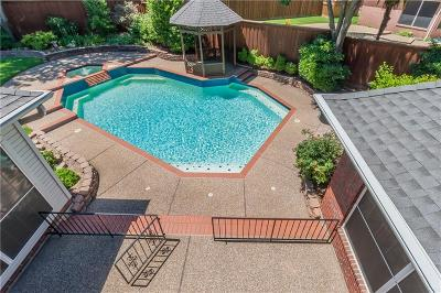 Coppell Single Family Home Active Option Contract: 132 Park Valley Court