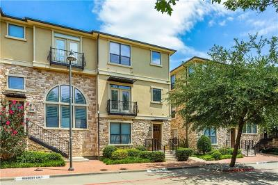 Plano Townhouse For Sale: 5741 Lois Lane