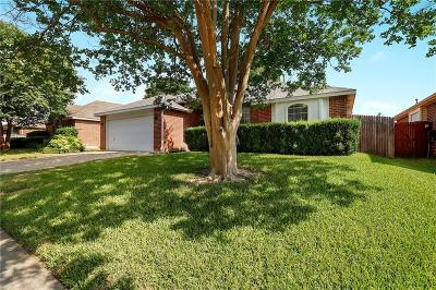 Fort Worth Single Family Home Active Option Contract: 5513 Rocky Mountain Road
