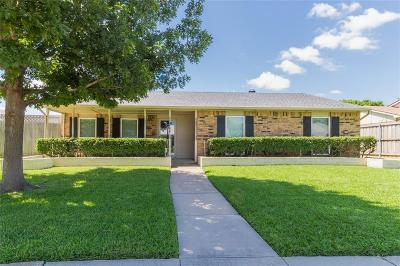 Plano Single Family Home Active Option Contract: 744 Warwick Drive