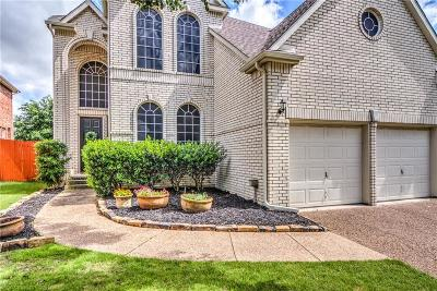 Irving Single Family Home Active Option Contract: 2602 Waterford Drive