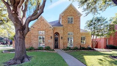 Plano Single Family Home Active Option Contract: 5820 Westmont Drive