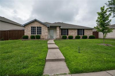 Wylie Single Family Home Active Option Contract: 2914 Lake Terrace Drive