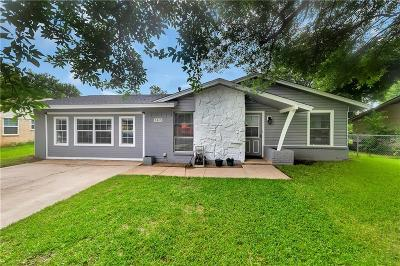 Denton Single Family Home Active Option Contract: 3418 Valley View Road