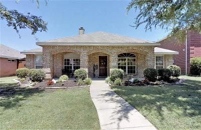 Allen Single Family Home Active Contingent: 1519 Summerfield Drive